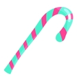 Candy cane icon cartoon style vector image vector image