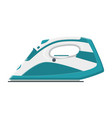 electric steam iron icon vector image
