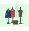 Mannequin for clothes vector image vector image
