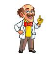 Professor Mascot vector image vector image