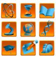science and education icon vector image vector image