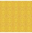 Yellow geometric background vector image vector image