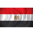 Flag of Egypt vector image