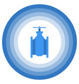 a minimalistic image of an abstract gate valve vector image vector image