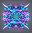 abstract geometric asymmetric form design vector image