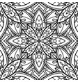 boho style seamless pattern vector image