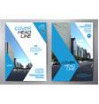 business brochure flyer design leaflets a4 vector image vector image