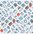 garage sale or flea market seamless pattern vector image vector image