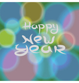 new year blurred background vector image vector image