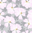 Seamless Pattern with pastel pink roses vector image