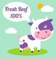 Beef vector image vector image