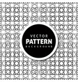 check pattern background design vector image