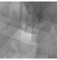 Geometric Grey Futuristic Pattern vector image vector image