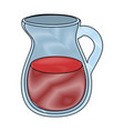 juice pitcher icon vector image vector image