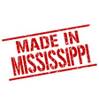 made in mississippi stamp vector image vector image