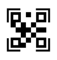 qr quick response code vector image vector image
