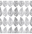 rustic leaves background icon vector image