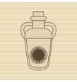 sunflower oil design vector image