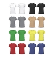 T-shirt Design template raglan sleeve vector image vector image