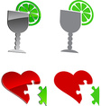 Tequila and cardio vector image