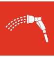 The spray gun icon Irrigation and watering symbol vector image