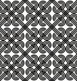 Vintage seamless pattern black and white