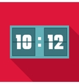 Scoreboard icon flat style vector image