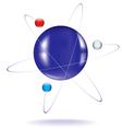 atom one vector image