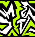 colored graffiti seamless texture vector image vector image