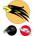 eagle bird vector image vector image
