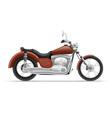 motorcycle 02 vector image vector image