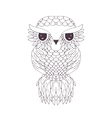 Owl graphic Abstract vector image vector image