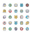 Science and Technology Cool Icons 3 vector image vector image