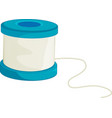 Thread Spool vector image vector image