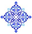artistic ottoman pattern series ninety seven vector image vector image