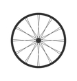 Bicycle wheel icon vector image vector image