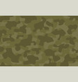 cartoon navy green army military camouflage vector image vector image