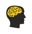 depression mental disease snakes vector image