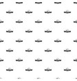 female hat pattern seamless vector image vector image