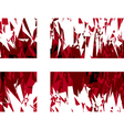 Flag of Denmark vector image