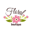 Floral boutique vector image vector image