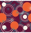 Geometric pattern of circles vector image vector image