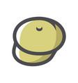 hunting green hat icon cartoon vector image vector image