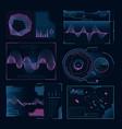 modern digital symbols web ui pictures vector image