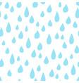 raindrop allover vector image vector image