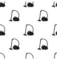 vacuum cleaner icon in black style isolated on vector image vector image