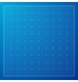 Blue Graph grid paper background vector image vector image