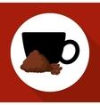 Cofffee icon drink concept Flat illiustration vector image