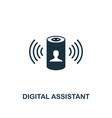 digital assistant icon creative element design
