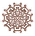 hand drawn sketch of mandala vector image vector image